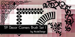 Decor Corner Brush set 1