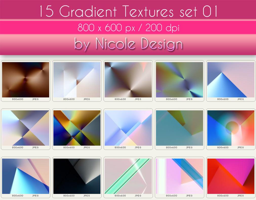 15 Gradient Textures set 01 - 800x600px 200dpi by noema-13