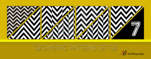 Geometric Patterns Set 02 by noema-13