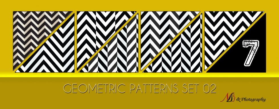 Geometric Patterns Set 02 by noema-13