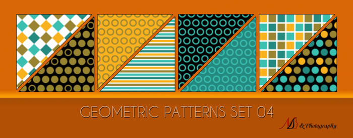 Geometric Patterns Set 04 by noema-13