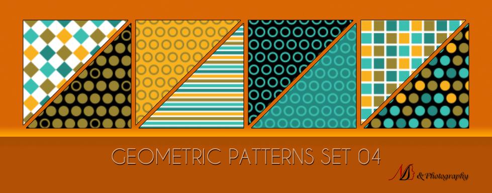 Geometric Patterns Set 04 by noema-13