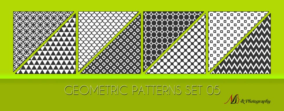 Geometric Patterns Set 05 by noema-13