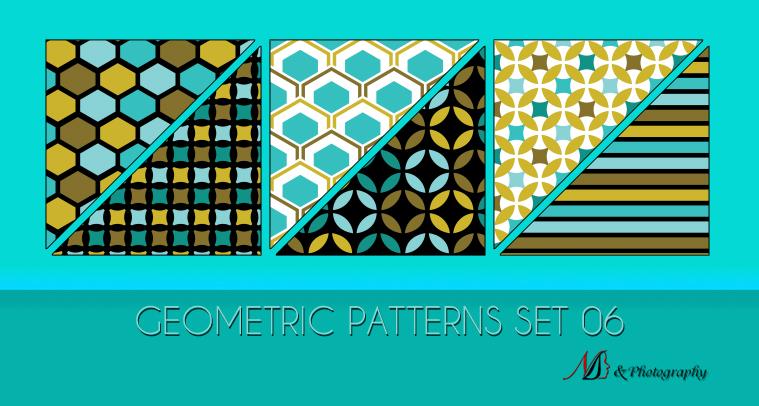 Geometric Patterns Set 06 by noema-13