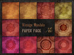 Vintage Mandala Papers pack
