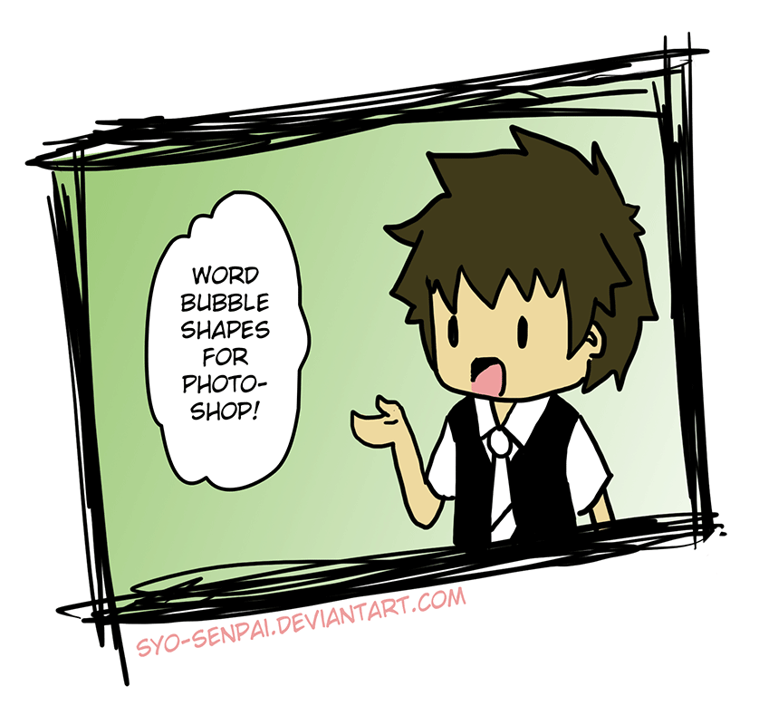 Manga Speech Bubbles by syo-senpai
