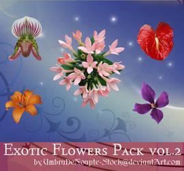 Exotic Flowers Pack vol.2