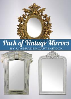 Vintage Mirrors Pack(PSD)