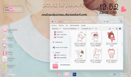 Screenshoot Cute Pastel By AnitaEdiciones by AnitaEdiciones
