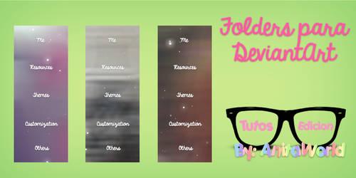 Folders para D.A. By AnitaEdiciones by AnitaEdiciones