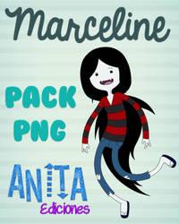 Pack PNG Marceline By AnitaEdiciones by AnitaEdiciones