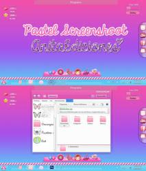 Pastel Screenshoot By AnitaEdiciones by AnitaEdiciones