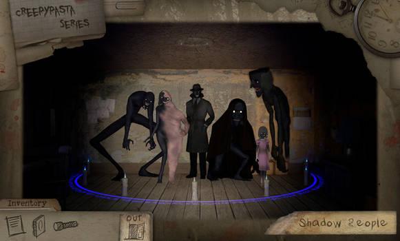 Creepypasta Series 18: Shadow People/Midnight Man by dimelotu