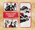 Png Pack 1105: Glee Cast