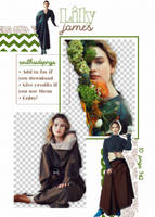 Png Pack 3880 - Lily James by southsidepngs