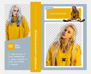 Png Pack 4079 - Billie Eilish by southsidepngs