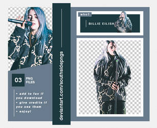 Png Pack 4113 - Billie Eilish by southsidepngs