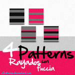 Patterns Rayados con fuccia