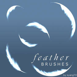 Feather Brushes by syang70