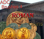 ADC brushes 4 -Roman Coins 1