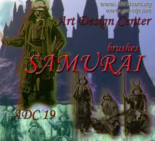 ADC Brushes 19- Samurai by 4sundance