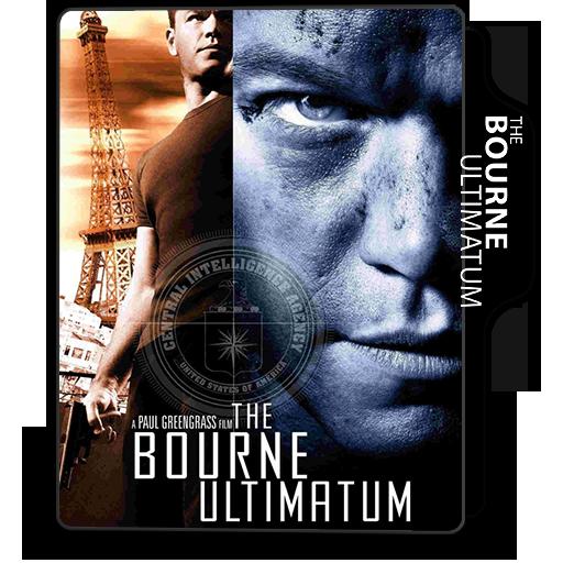 The Bourne Ultimatum 2007 Folder Icon By Mesutisreal On Deviantart