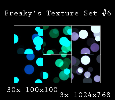 Freaky's Texture Set No6