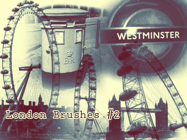 London Photoshop Brushes 2 by freaky-x