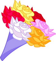 Resource: Bouquet of Roses by PsychicWalnut