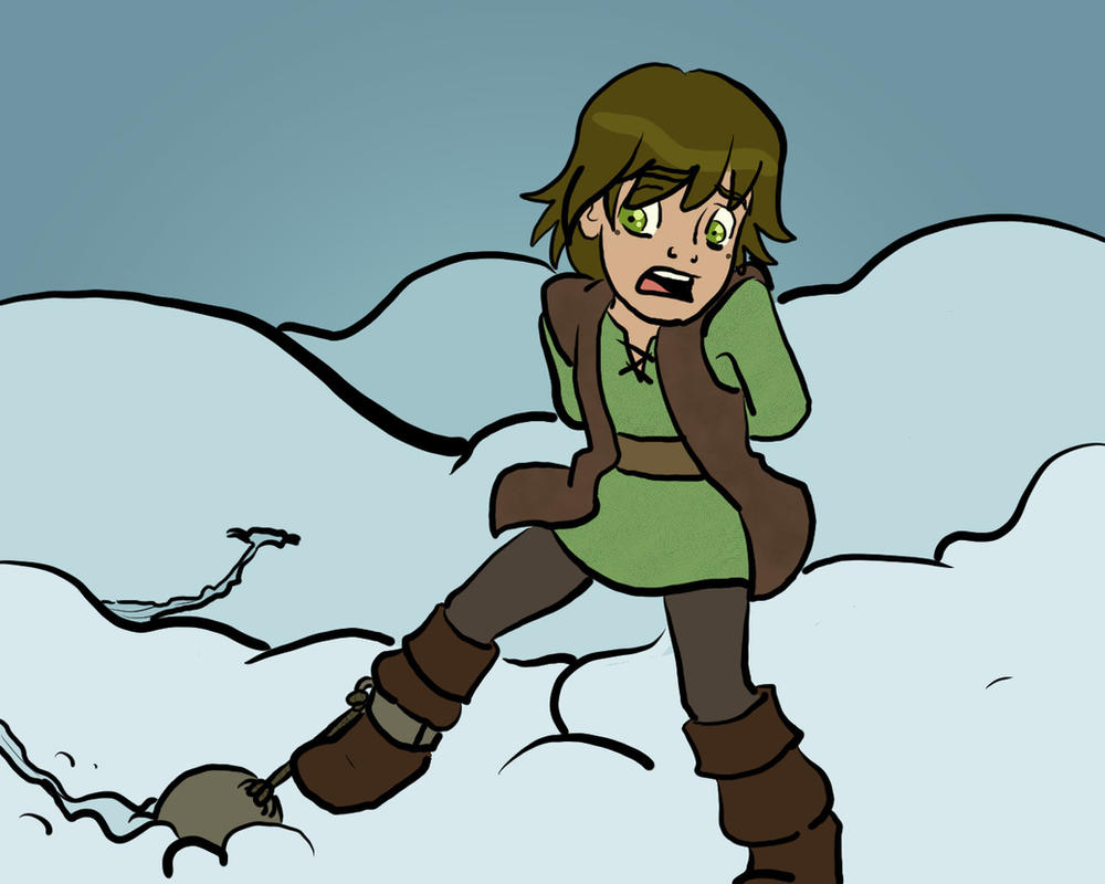 Almost Frozen Hiccup By JasonMasters