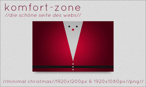 minimal christmas by komfort-zone