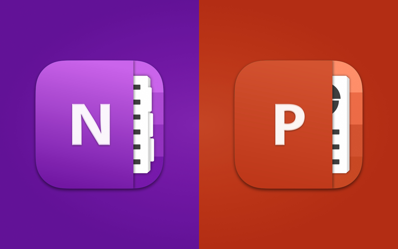 Big Sur - OneNote and Powerpoint
