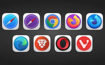 Big Sur - Browser Icons