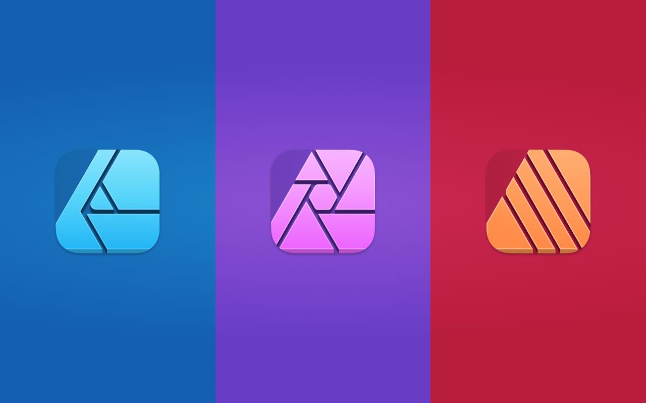 Big Sur - Affinity Suite Icons