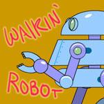 Robot Walk Cycle