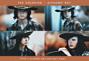 Alphabet Boy   PSD Coloring by Aloene