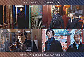 Johnlock   PSD Pack by Aloene