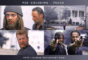 Peace | PSD Coloring by Aloene