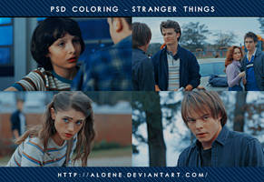 Stranger Things | PSD Coloring by Aloene