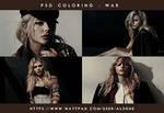 War | PSD Coloring