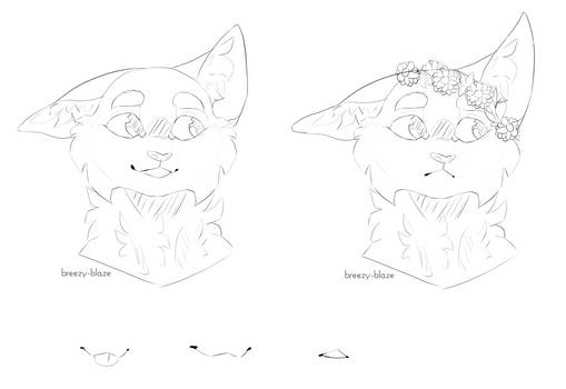 Free cat lineart - PSD and transparent PNG file