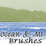 Ocean and Mtn Brushes