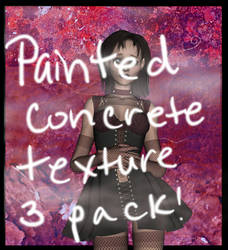 Painted Concrete Texture Pack