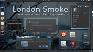 London Smoke Gnome-Shell