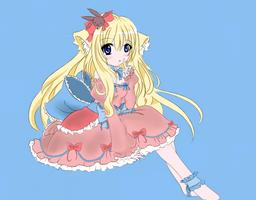 MiiyukiChan Colored by Nokami-san