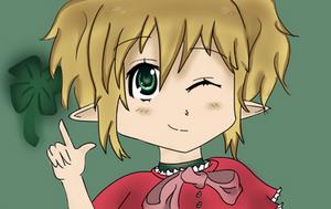 Anime Elf Girl by Nokami-san