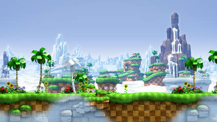 Just a simple Green hill zone gif :-P
