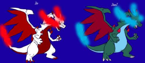 What Shiny Mega CharizardX should have looked like