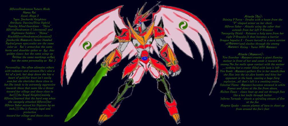 My Digimon Oc by Haikuthealfadragon