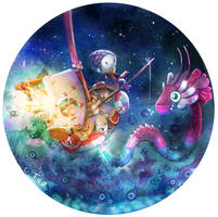 Animated Illustration Day and Night